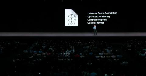 4. iOS 12 makes it easy to share your augmented-reality experiences. Apple worked with Pixar to create a new file format that's optimized for sharing but has great 3D graphics and animations.