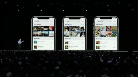 """6. Apple's Photos app is getting a nice boost in iOS 12. A new """"For You"""" tab lets you see photos you took that day in past years, or some Apple-made effects that could be applied to your photos. There are also new search"""