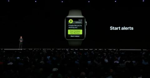 13. The Apple Watch is now much smarter about your workouts, thanks to watchOS 5. The new Apple Watch software introduces automatic workout detection, which can suggest an activity based on what it thinks you're doing (in case you