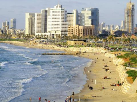 """Tel Aviv has been called """"the next Silicon Valley."""""""