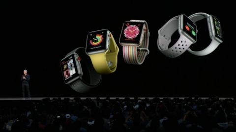 """15. Another clever new Apple Watch feature: Now, if you raise your wrist, you don't need to say """"Hey Siri"""" to start talking to your Apple Watch. It will automatically recognize that you want to talk to it. Just say whatever you"""