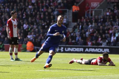 17: Eden Hazard, Chelsea attacker — €124.7 million ($146 million).