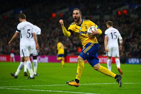 22: Gonzalo Higuaín, Juventus striker — €104.5 million ($122.4 million).
