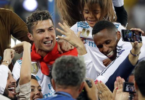 Cristiano Ronaldo — Juventus F.C. and Portugal national team striker.