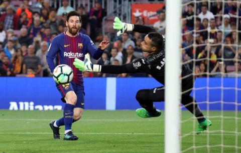 4: Lionel Messi, FC Barcelona forward — €184.2 million ($215.9 million).