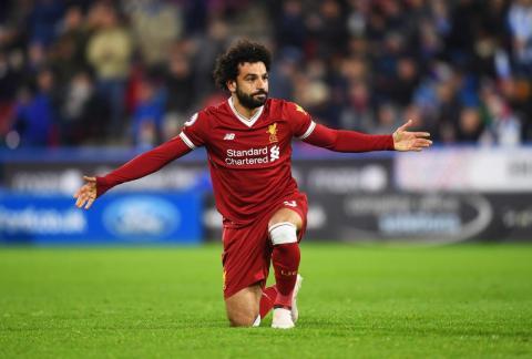 Mohamed Salah — Liverpool FC and Egypt national team forward.