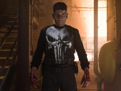 "58. ""Marvel's The Punisher"" — 66%"