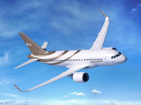 6. Airbus ACJ319Neo: The ACJ, or Airbus Corporate Jet, is the business version of the Airbus A319neo airliner.