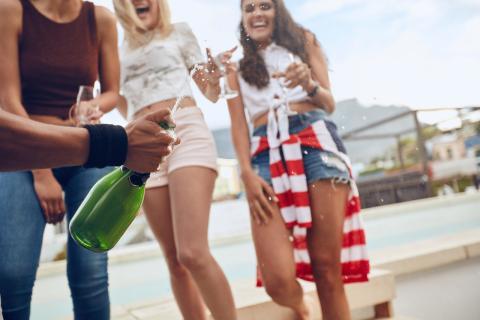 Abrir botella de Champagne