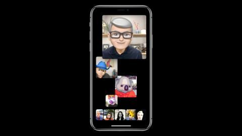 Actualización iOS12: FaceTime grupos de 32 personas