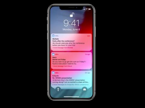Actualización iOS12: notificaciones