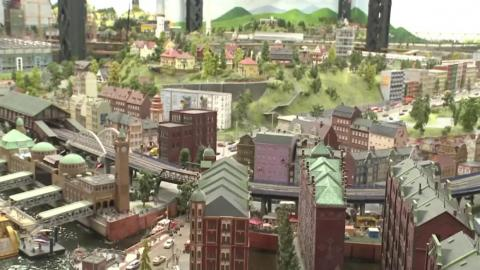And finally, here's the fictional town of Knuffingen.