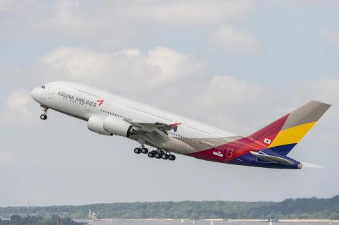 ... Asiana Airlines ...