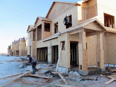 … brand-new housing developments …