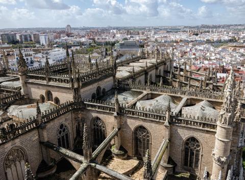 Imagen de la Catedral de Sevilla.