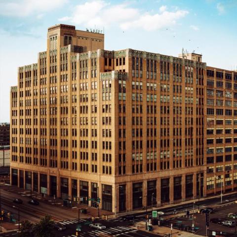 Edificio Philadelphia Internet Exchange, en el 401 N. Broad St. en Philadelphia.