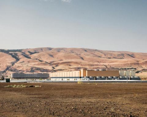 Centro de datos de Google, The Dalles, Oregón.