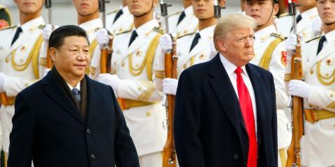 RE China y EEUU están enzarzados en un conflicto impositivo.