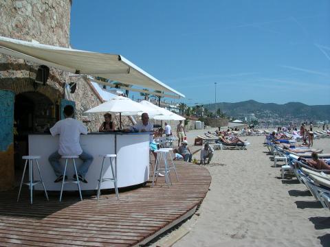 Chiringuito en Sitges