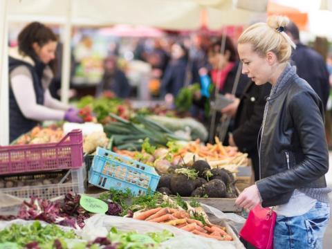 Compra de verduras [RE]