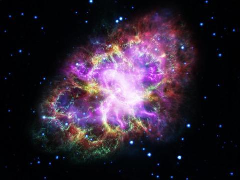 La nebulosa del Cangrejo es el resultado de una explosión de una supernova observada en 1054.