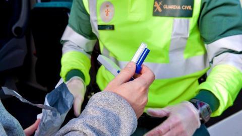 Control alcohol drogas Guardia Civil