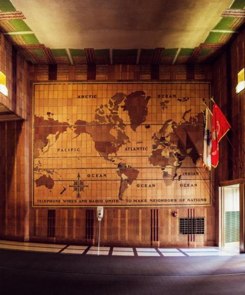 Lobby en el 32 de Avenue of the Americas en Nueva York.