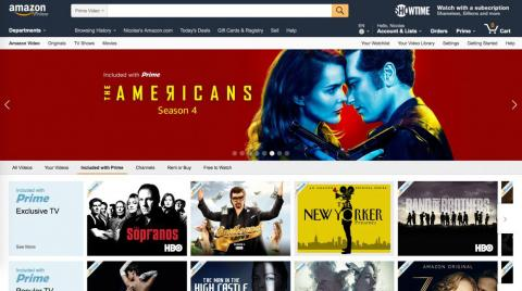 Amazon Prime Video is the most similar competitor to Apple TV Plus.