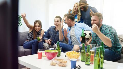 Fútbol en casa