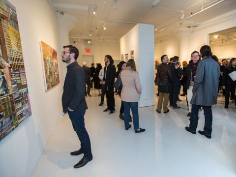 Galerías de arte en Manhattan