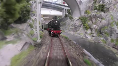 From the Grand Canyon, just take a brief train ride through Switzerland and you'll arrive in ...