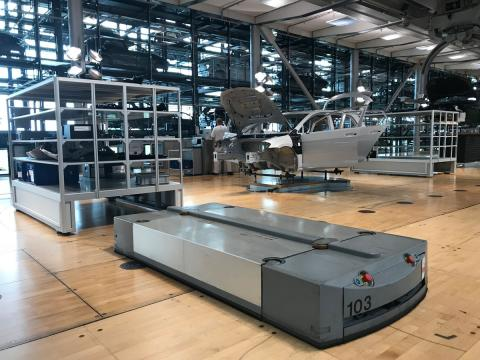 hacer turismo fábrica de cristal volkswagen