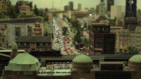 Since Hamburg is the actual city that houses the Miniatur Wunderland, the creators went out of their way to bring rich detail to the model replica.