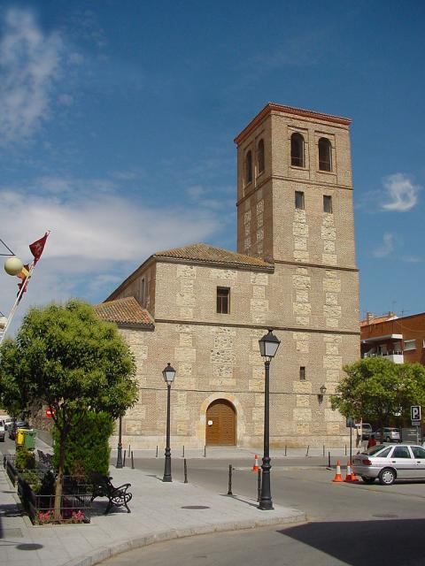 Iglesia de San Vicente Mártir en paracuellos del Jarama