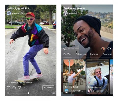 Instagram just declared war on YouTube with a new longform-video app