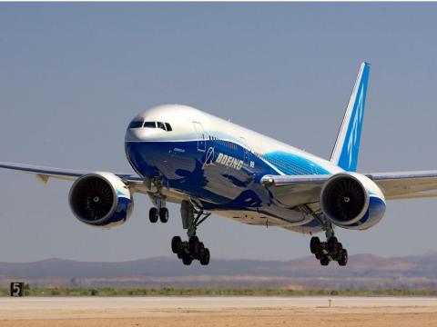 El Boeing 777-200LR WorldLiner.