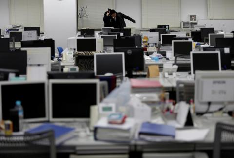 Japan's aging population poses a serious problem to the country's workforce.