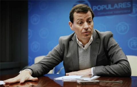 José Luis Bayo, candidato a la presidencia del PP