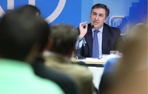 José Ramón García Hernández, candidato a presidir el PP