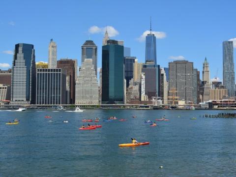 kayak en Nueva York