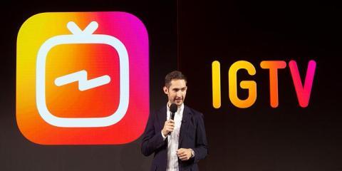 El cofundador de Instagram Kevin Systrom.