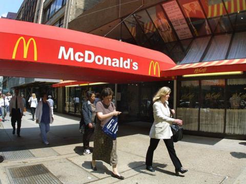 Un establecimiento de McDonald's.