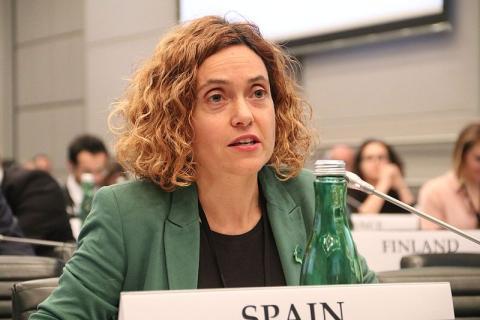 Meritxell Batet, ministra de Administraciones Públicas