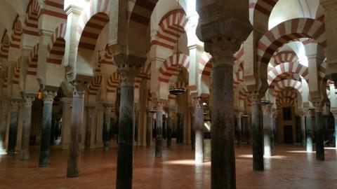 Fotografía de la Mezquita de Córdoba.