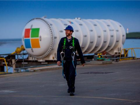 A Microsoft employee first came up with the idea of an underwater data centre in a whitepaper, and the company's artificial intelligence and research division took on the project in 2014. Data centres are the internet's backbone,