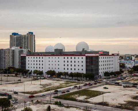 Punto de acceso a la red de las Américas (NAP) en Miami.