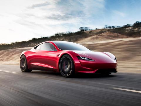 The new Tesla Roadster is expected to arrive in 2020.