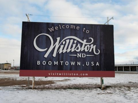 The North Dakota oil boom peaked in 2012, six years after oil was discovered in the northwest corner of the state.