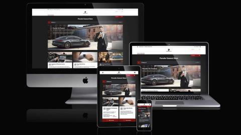 La nueva experiencia digital Porsche