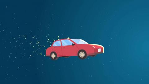 By numbers, most meteors are smaller than a car and burn up in the atmosphere as harmless meteors.